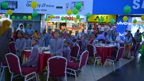 Majlis Berbuka Puasa Bersama Anak-Anak Yatim – 9 June 2017