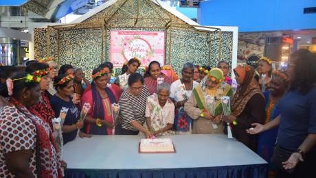 Acara Memotong Kek Sempena Hari Ibu 2018