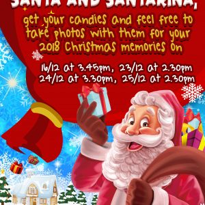 Meet Christmas Santa And Santarina For 2018